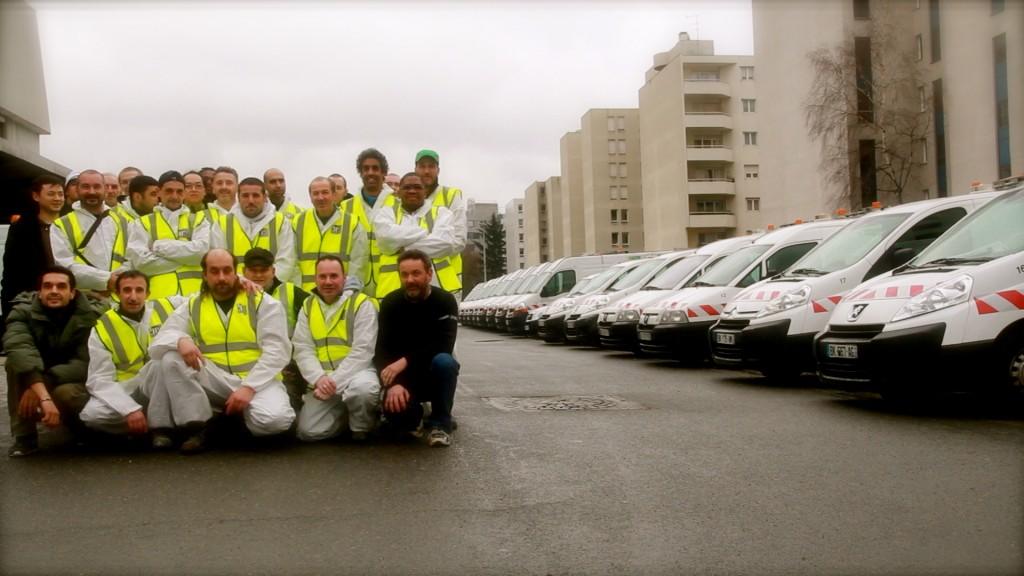 equipe+vehicules